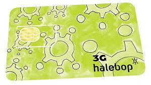 Halebop kontantkort medföljer VAKE-larm